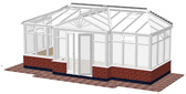 T-Shaped Conservatory