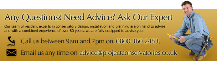 Ask Our DIY Conservatories Expert