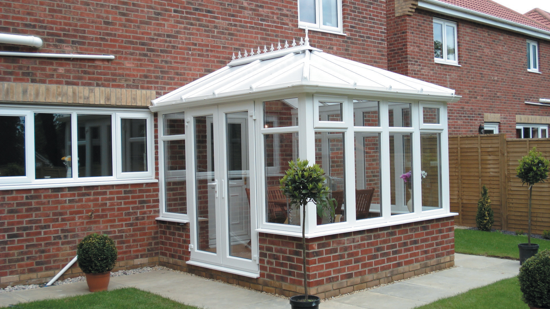 Diy edwardian conservatory for House plans with conservatory