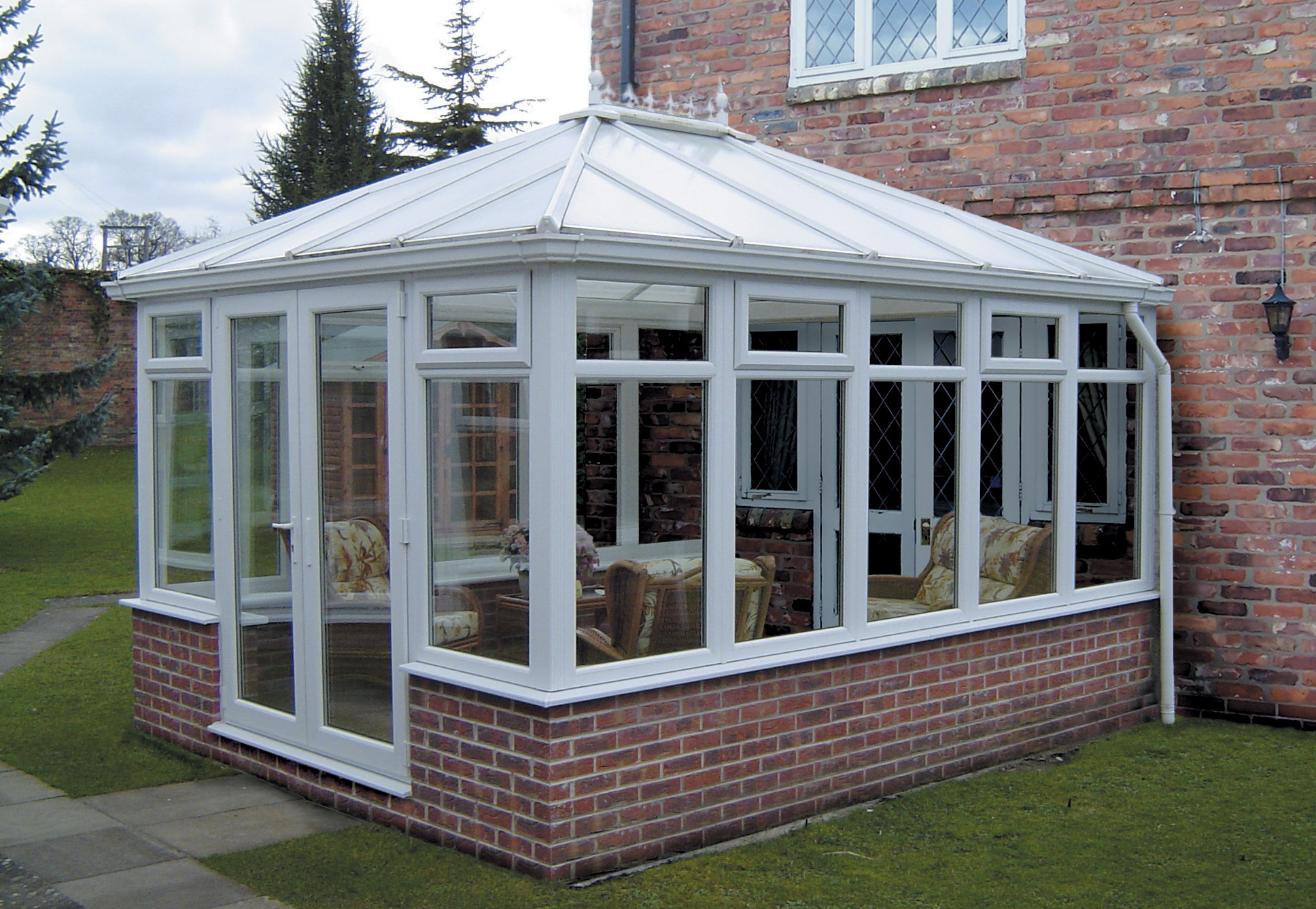 Edwardian Hipped Back To Box Gutter Diy Conservatory