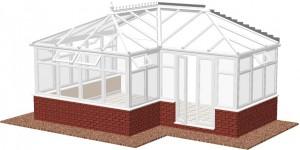 Edwardian P-shape DIY Conservatories