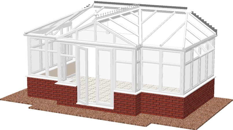 Combination Diy Conservatories Project Conservatories