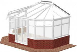 Gullwing Lean-to conservatory