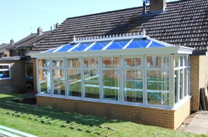 Orangery close to completion