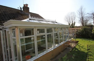 Orangery facia installed