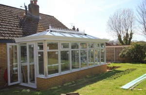 Orangery now water proofed