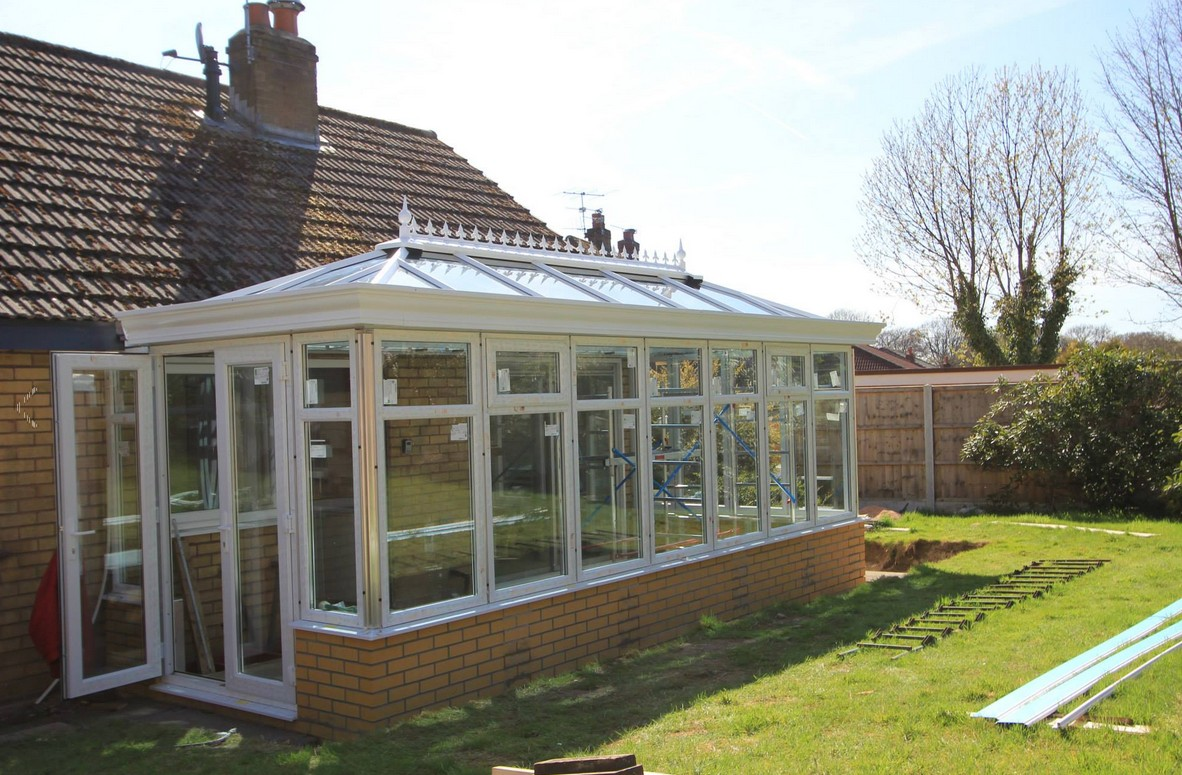 Orangery Now Water Proofed Project Conservatories