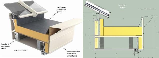 K2 Conservatories Box Gutter