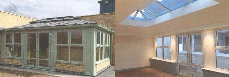 Supalite Interior View Of Orangery Project Conservatories