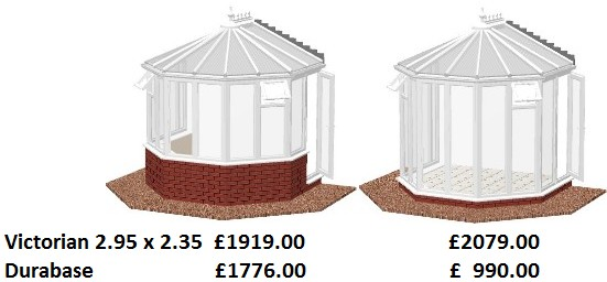 victorian diy conservatory prices