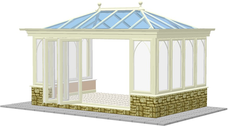 Capella Orangery With Bi Fold Doors Project Conservatories