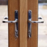 chrome door hanldes for diy conservatories