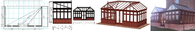 design process for a diy conservatory