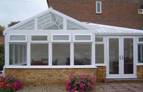 diy gable end P-shape conservatory