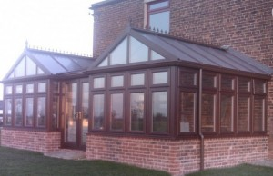 double gable end diy conservatory