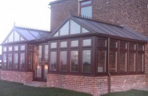 double gable end diy conservatory