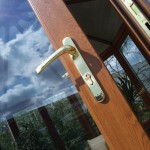 gold door handles for diy conservatories