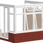 install the eaves beam to the top of the frames