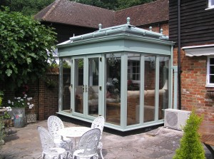 orangery lantern and frames