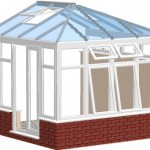 the roof glazing is fitted onto roof structure
