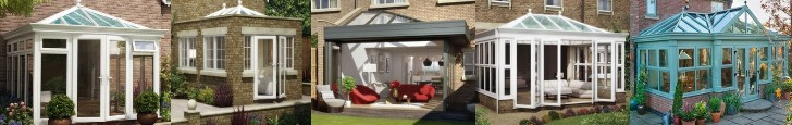 various diy self build orangeries
